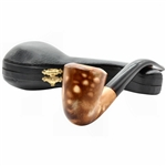 Signed M.Y. Colored Block Meerschaum Pipe