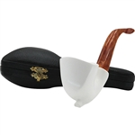 Smooth Freehand Block Meerschaum Pipe