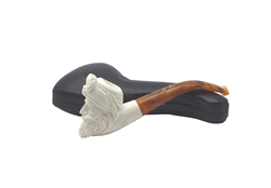 Bearded Sultan Block Meerschaum Pipe