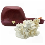 Castle by Cevher Block Meerschaum Pipe