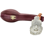 Beowulf with Eagle Block Meerschaum Pipe