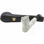 Sultan Knurl Long Shank Block Meerschaum Pipe