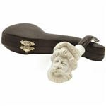 Zeus Smooth Knurl Block Meerschaum Pipe