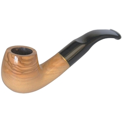 Dapper Stubby Olive Wood Pipe