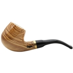 Meerschaum Lined Dapper Olive Wood Pipe