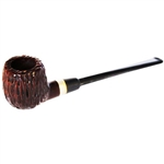 Small Billiard Silver Band Italian Briar Pipe