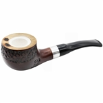 Dapper Meerschaum Lined Briar Pipe - 9mm