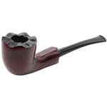 Red Freehand Briar Pipe