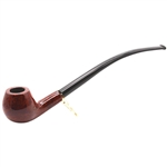 Red Apple Churchwarden Italian Briar Pipe
