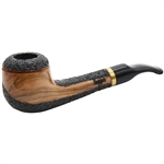 Dapper Rustic Olive Wood Pipe