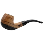 Dapper 9mm Rustic Olive Wood Pipe