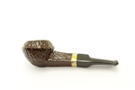 Nose Warmer Brass Band Italian Briar Pipe