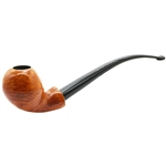 Italian Blowfish Churchwarden Briar Pipe
