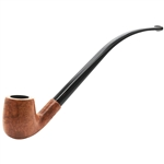 Polished Italian Churchwarden Briar Pipe