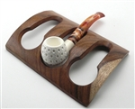 3 Pipe Wood Holder
