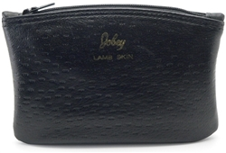 Jobey Zipper Peccary Tobacco Pouch - Small