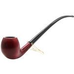 Milano Apple Churchwarden Italian Briar Pipe
