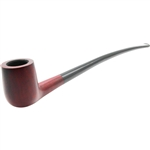 Royal Red Billiard Churchwarden Italian Briar Pipe