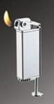 Vector KGM Rapidash Butane Pipe Lighter with Tamper - Hi-Polish Chrome