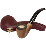 Colored Dublin Block Meerschaum Pipe