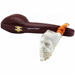 Emre Signed Block Meerschaum Pipe