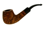 Classic Bent Stem Briar Pipe
