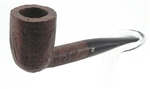 LaCroix Small Sandblasted Briar Pipe