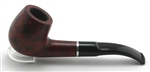 9mm Classic Billiard Prestigio Stromboli Ring Briar Pipe