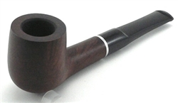 Billiard Straight Saddle Prestigio Walnut Matt Briar Pipe