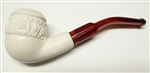Mini Deluxe Hand Carved Topkapi Meerschaum Pipes