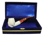 Standard Hand Meerschaum Pipes with Velvet Chest