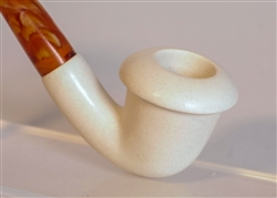 Standard Calabash Smooth Meerschaum Pipes