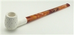 Standard Billiard Lattice Straight Churchwarden Meerschaum Pipes