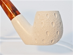 Standard Sitting Lattice Meerschaum Pipes