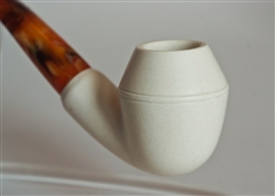 Standard Bulldog Smooth Meerschaum Pipes