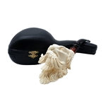 Special Emin Dog with Bird Block Meerschaum Pipe