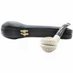 Lattice Whale Block Meerschaum Pipe