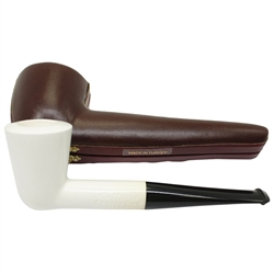 Deluxe Hand Carved Cottom's Choice Limited Edition #26 Meerschaum Pipe