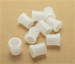 White Rubber Pipe Bits - (9 pcs)