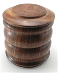 Wood Tobacco Jar - Large