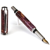 Baron Fountain Pen - Purple Maple Burl