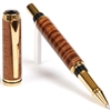 Baron Rollerball Pen - Curly Hawaiian Koa