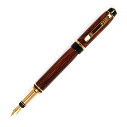 Cigar Fountain Pen - Cocobolo