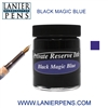 Private Reserve Black Magic Blue Fountain Pen Ink Bottle 28-bmb - Lanier Pens