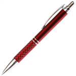 A201 Series Promotional Click Activated Pencil with a Red aluminum body - Lanier Pens