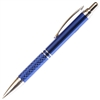A203 Series Promotional Click Activated Pencil with a Blue aluminum body - Lanier Pens