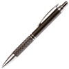 A206 Series Promotional Click Activated Pencil with a Gun Metal aluminum body - Lanier Pens