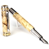 Majestic Fountain Pen - Buckeye Burl