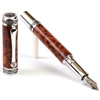 Majestic Fountain Pen - Thuya Burl