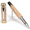 Majestic Rollerball Pen - Birds Eye Maple
